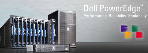 Powered by Dell Poweredge Servers
